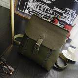 [PRE-ORDER] Women Zipped Outing Shopping Backpack - Green