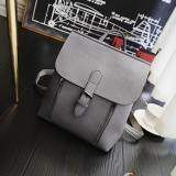 [PRE-ORDER] Women Zipped Outing Shopping Backpack - Grey
