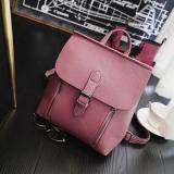[PRE-ORDER] Women Zipped Outing Shopping Backpack - Pink