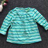 PREMIUM QUALITY Adorable Stripe Shirt Baby Fresh for Girls - Green