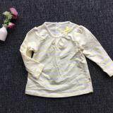 PREMIUM QUALITY Adorable Stripe Shirt Baby Fresh for Girls - Yellow