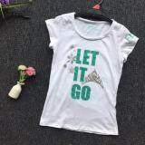PREMIUM QUALITY Let it Go Shirt for Girls - White