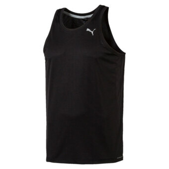Puma Men's Core-Run Singlet (Black)