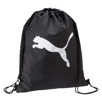 PUMA Pro Training Gym Sack Sports Beach Bag Lightweight (Black)