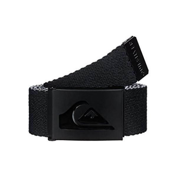 Quiksilver Quiksilver Mens Double Revo Belt, Black, One Size - intl