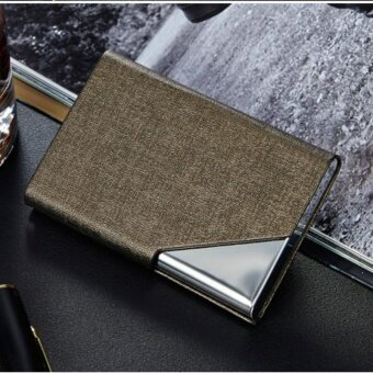 RFID Blocking Business Card Holder Case Aluminum Wallet Money Clip Protector Case Kes Pemegang Kad kredit