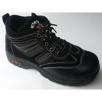 Harga SAFETY SHOES KM 102 (BLACK)