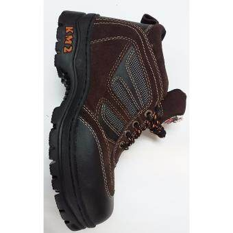 Harga SAFETY SHOES KM 102 D.BROWN