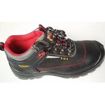 Harga SAFETY SHOES KM 232 (BLACK)