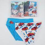 Set of 2 Car Boys Kids Cotton Briefs