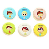 Set of 5 Round Hard Case Coin Purses - Girls Series