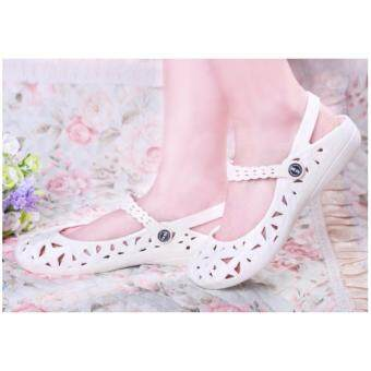 Harga Size 36-40 ~ Casual Comfort Ladies Sandal White