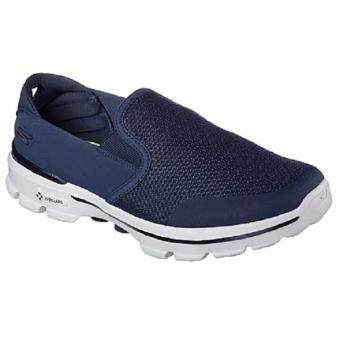 Harga Skechers Men GO WALK 3 (53988 NVGY).