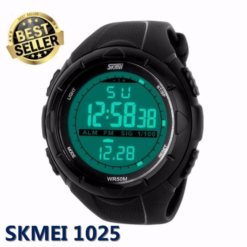 Skmei 1025 Digital Watch (Black) Malaysia