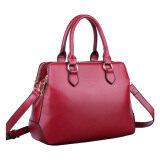 (RAYA 2019) Sokano Trendz 833 Premium PU Leather Handbag Handbeg Wanita (Maroon)