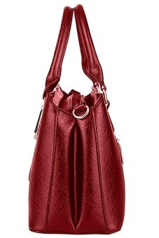 SoKaNo Trendz SKN802 Premium PU Leather Bag- Red