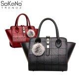 (RAYA 2019) SoKaNo Trendz SKN803 Premium PU Leather Bag Handbeg Wanita- Black