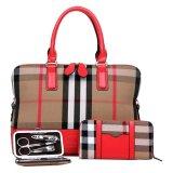 (RAYA 2019) SoKaNo Trendz SKN821 Eurpoean Style Tote Bags (Set of 3)- Red