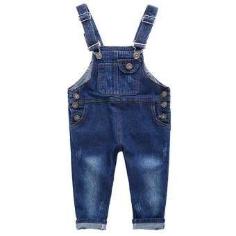 Fitur Shopping Yukz Overall Jumpsuit Jeans Denim Hijab Wanita Raudi