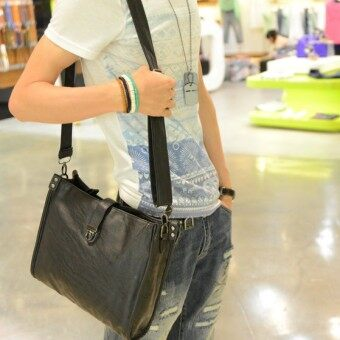 Stylish guy's Korean-style cross-body iPad bag cross men's shoulder bag