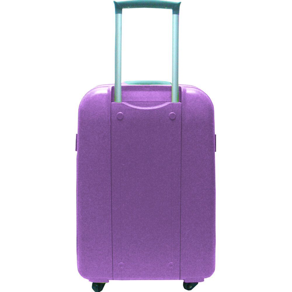 Summit MA1304 – PP Hard Case Trolley with Clipper 18 inch Purple