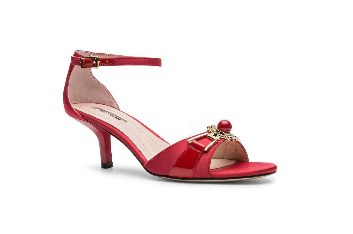 Sun Diamond Red Sandals