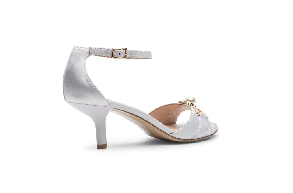 Sun Diamond White Sandals