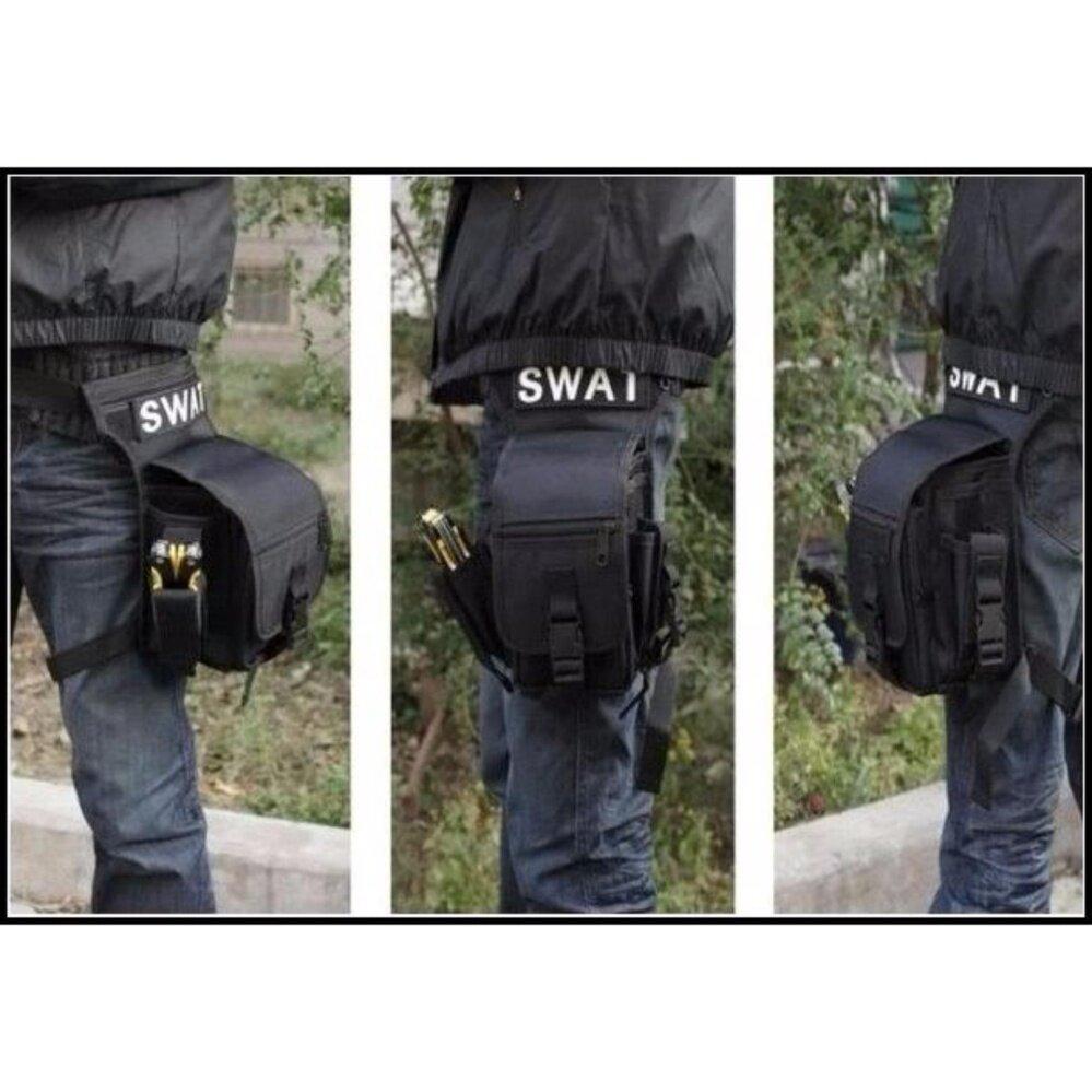 SWAT Utility Multifunction Waist Leg Outdoor Sport Waterproof Bag Beg
