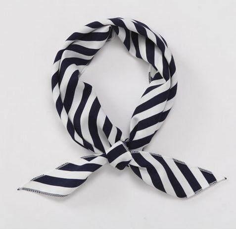 Untuk Membeli STH. On Behalf dari SB. Korea Mengimpor Wanita Syal Sepanjang Angkatan Laut Di Bo England Menggabungkan Segitiga Handuk Busur Dasi Turban Pramugari Bank warna Biji-bijian Syal-Internasional