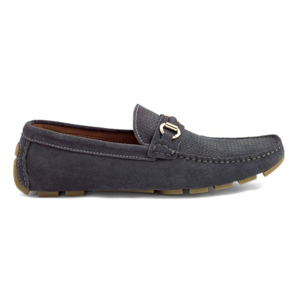 Tomaz C246 Buckled Loafers (Grey)