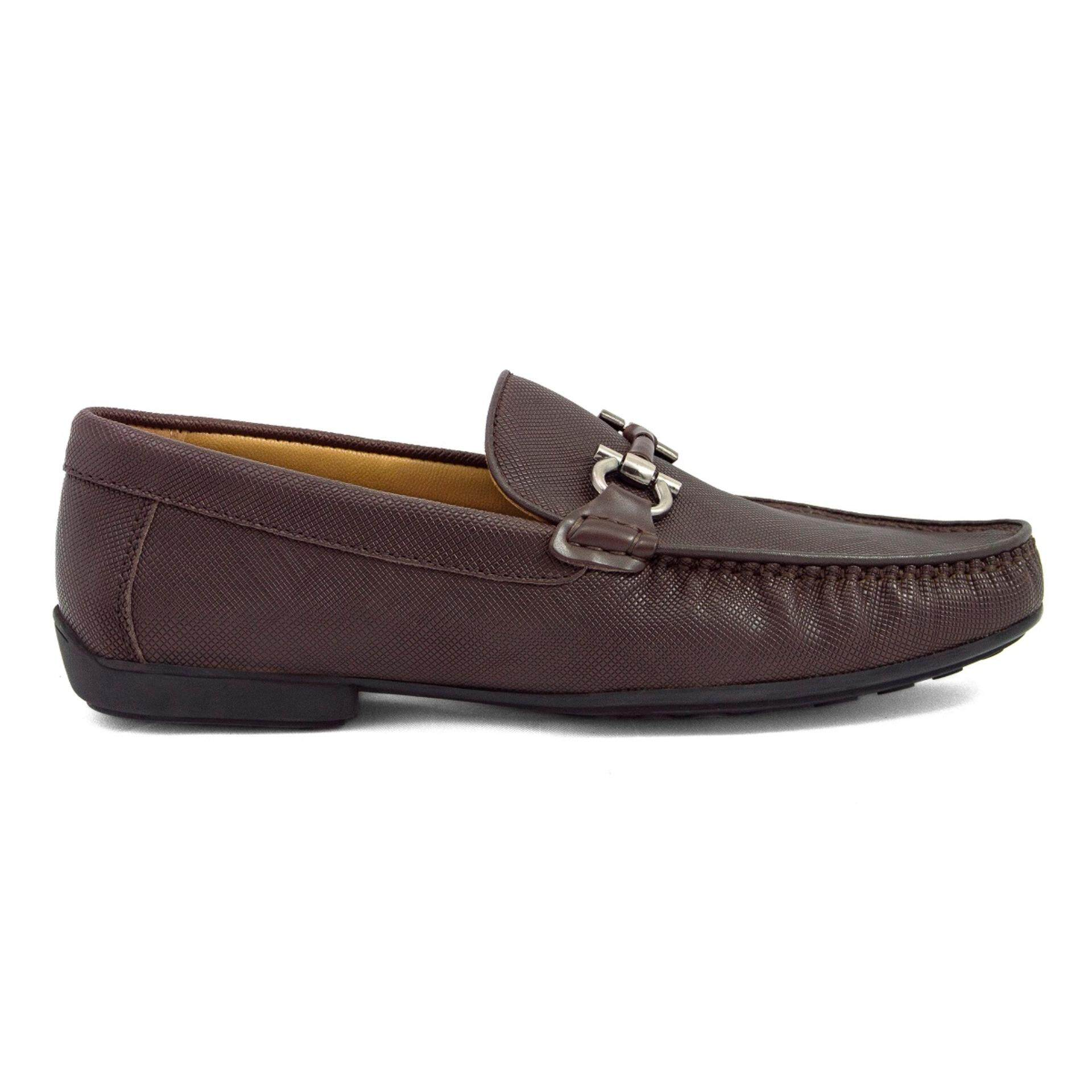 Tomaz C255 Buckled Loafers (Coffee)