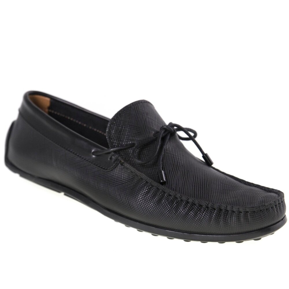 Tomaz C282 Bow Loafers (Black)