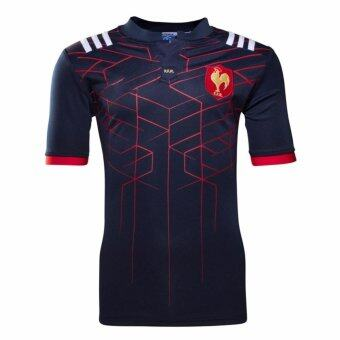 Harga Top Thai quality France 2016/17 Home S/S Rugby Shirt 2017 18 MenFrance rugby Jersey size S-3XL