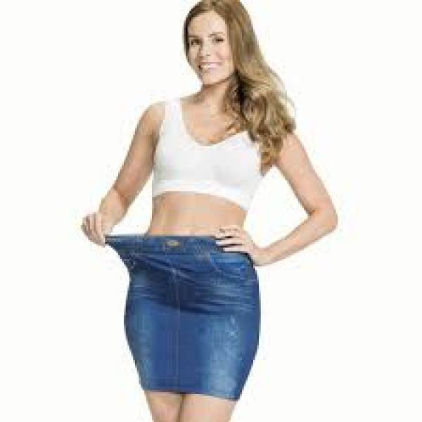 Trim n Slim Shaper Skirt Blue