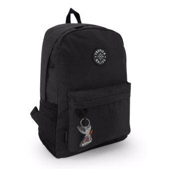Harga Tropicana Life Simple Hipster Badge Backpack