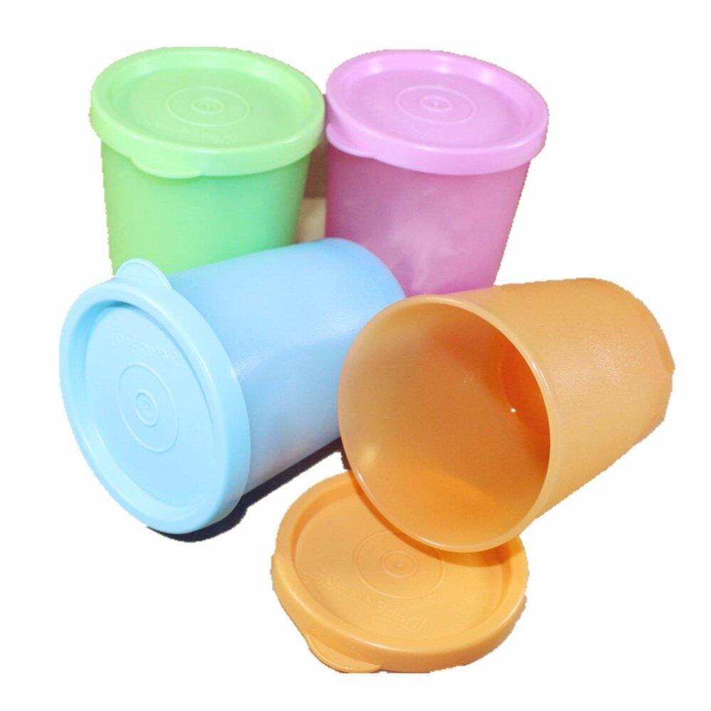 Tupperware Pretty Pastel Cup (4) 180ml Each Color