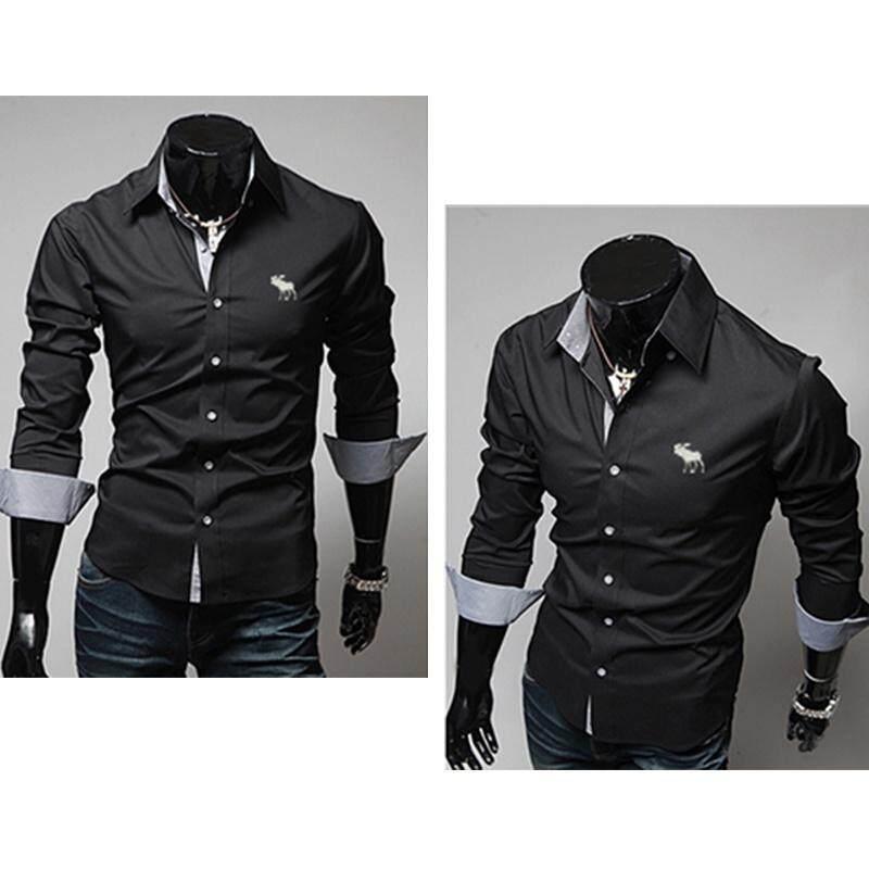 turn-down-collar-slim-button-up-long-sleeve-tops-office-shirtgentleman-business-shirt-mens-fashion-shirt-3398-19098786-42fa868b77323669a83914ac82e2a0b2- Koleksi List Harga Atasan Wanita Yg Modis Paling Baru bulan ini