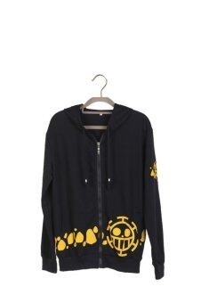 Ufosuit Hoody Trafalgar Law Cosplay Costume (Black)