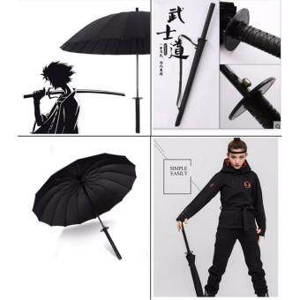 Harga Umbrella Bleach Black Anime Naruto Ichigo Kurosaki Sword Handle