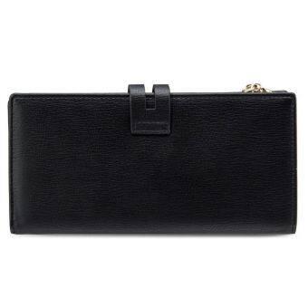 UNISA Textured Bi-Fold Long Ladies Wallet (Black) - 3
