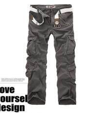 ขาย Us Army Men S Camouflage Pure Cotton Cargo Pants Color Grey ผู้ค้าส่ง
