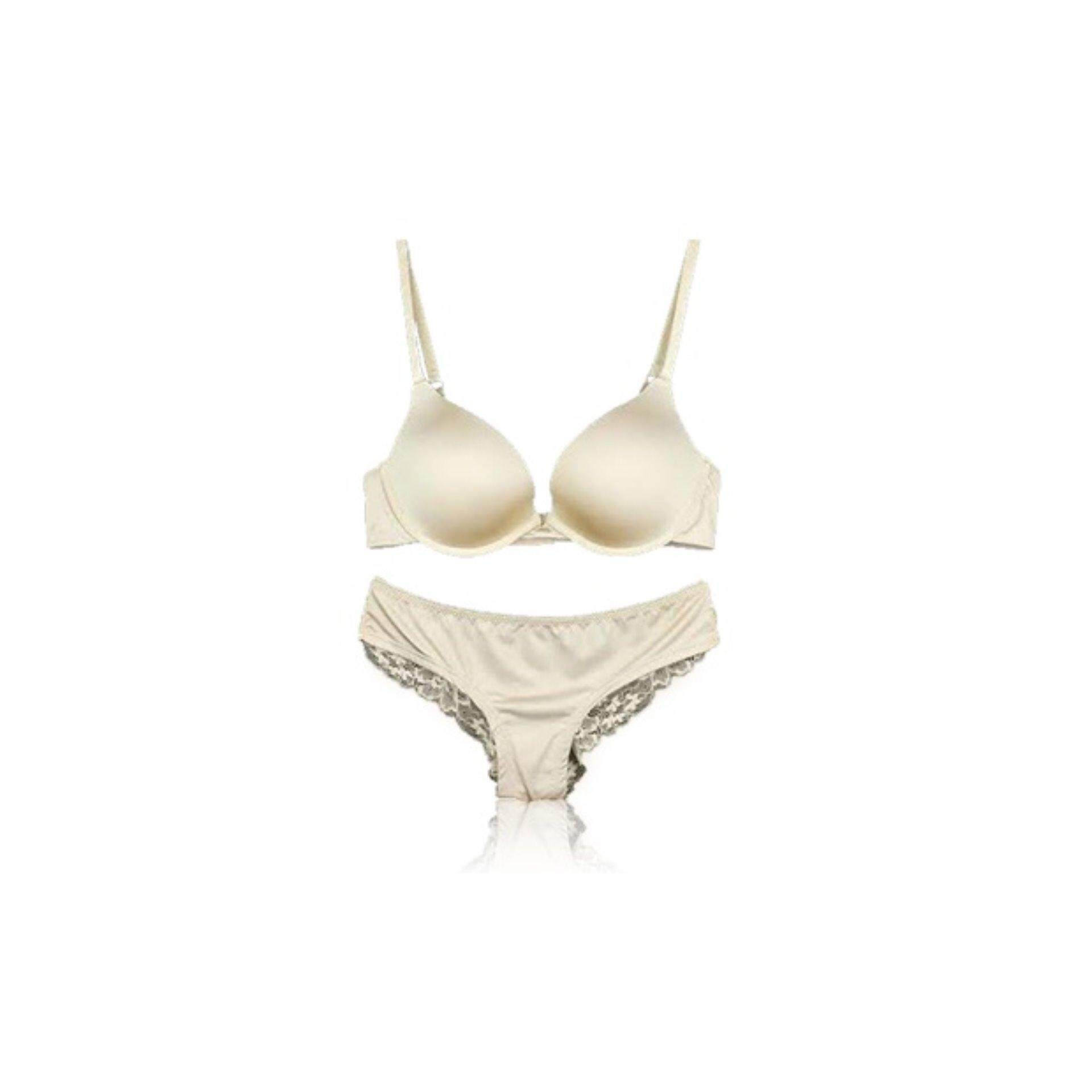 5cb322af0d V.S.Dream Angels Push Up Bra and Panties Set NUDE- Clearance Sale Below Cost