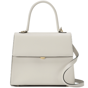 Vanessa New style leather handbag women's bag (Off-white color 2)