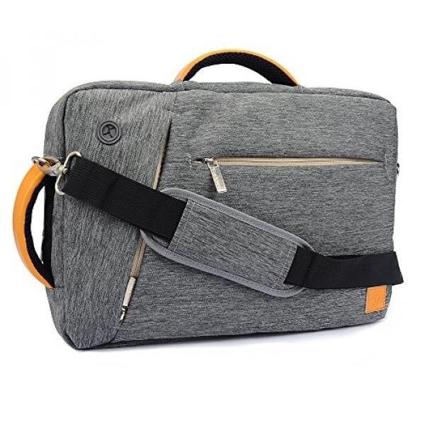 Tas Bahu Laptop Vangoddy Ransel dan Kurir Tas untuk Model Terbaru 2015 Ponsel Pavilion 13.3/Apple MacBook Pro dengan retina Tampilan 13/Udara 13.3 (Abu-abu) borana-Internasional