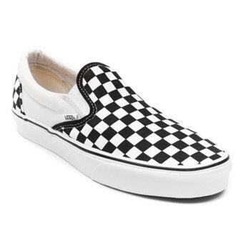 vans slip ons white price