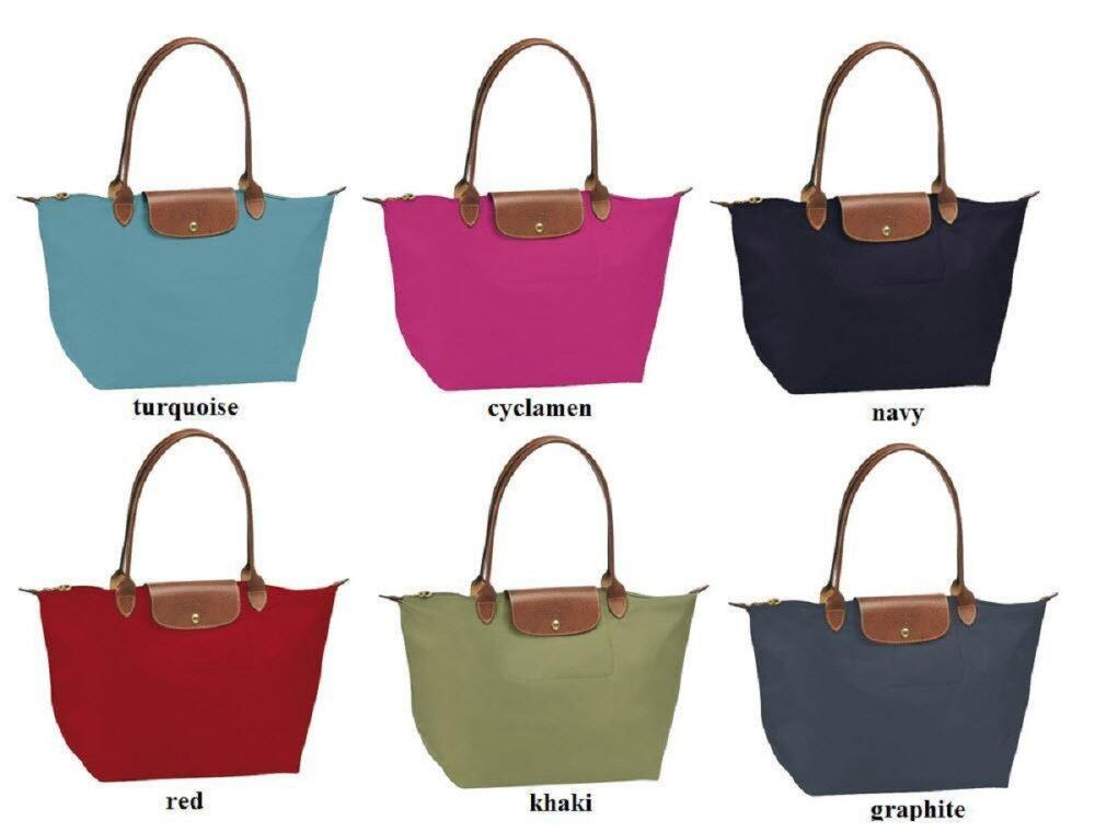 WATERPROOF LARGE SHOULDER LEATHER TOTE BAG + FREE SHIPPING( Random Colors)
