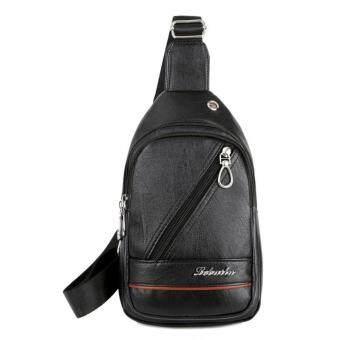 Waterproof Leather Crossbody Bags for Men