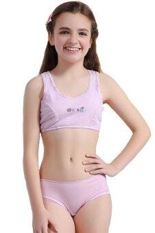 WoFee 2015 Cotton Training Bra and pants sets for young