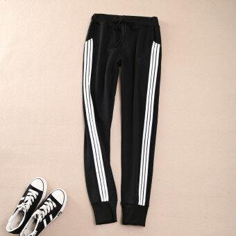Women Ladies Casual Sport Pant Elastic Waist Trousers RunningJogging Plus Size - 2
