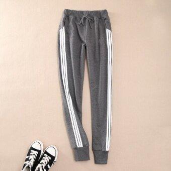 Women Ladies Casual Sport Pant Elastic Waist Trousers RunningJogging Plus Size - 3